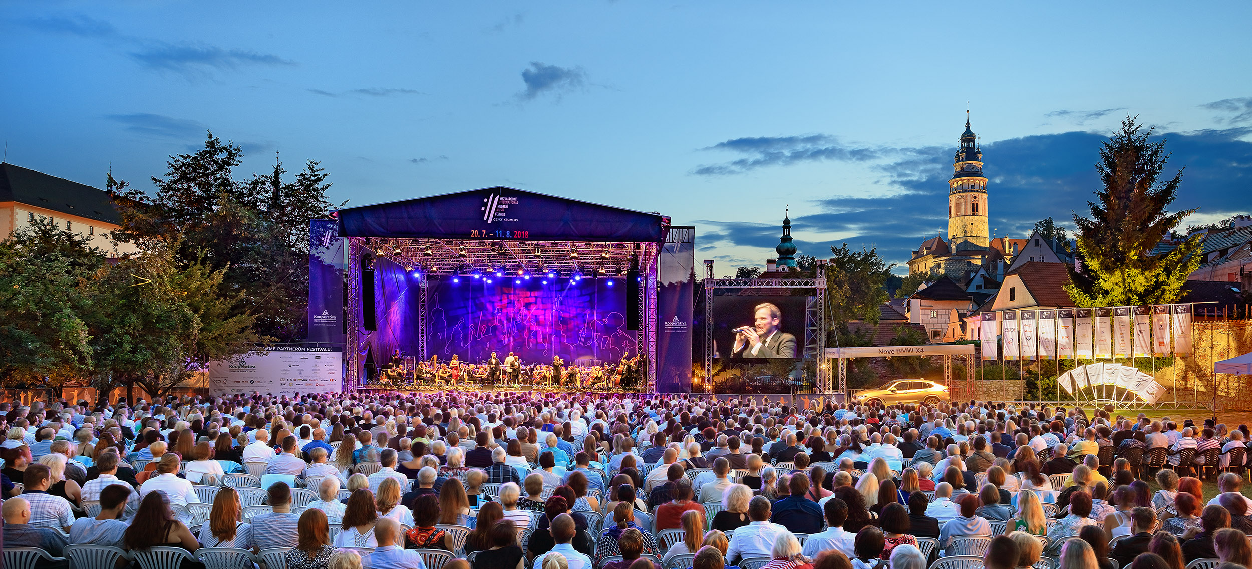 30. ročník festivalu přivítá operní legendu Plácida Dominga, jazzového bubeníka Billyho Cobhama nebo pěvce Adama Plachetku