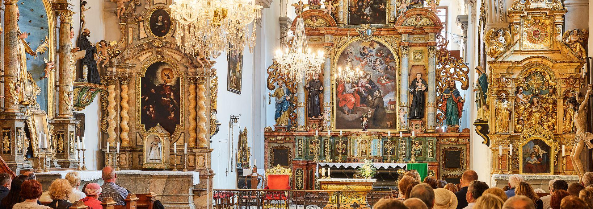 Church of Corpus Christi and the Grieving Virgin Mary